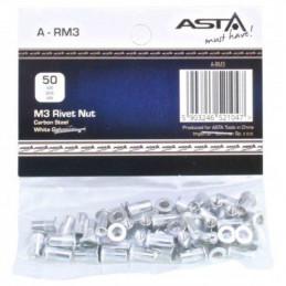 ASTA M3 Nietmuter mit...